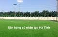 Sân bóng cỏ nhân tạo Thảo Nguyên - Hà Tĩnh