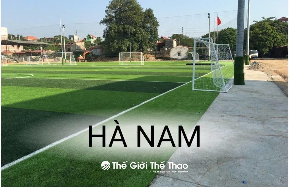 Sân bóng công ty xi măng Xuân Thành - Thanh Liêm Hà Nam