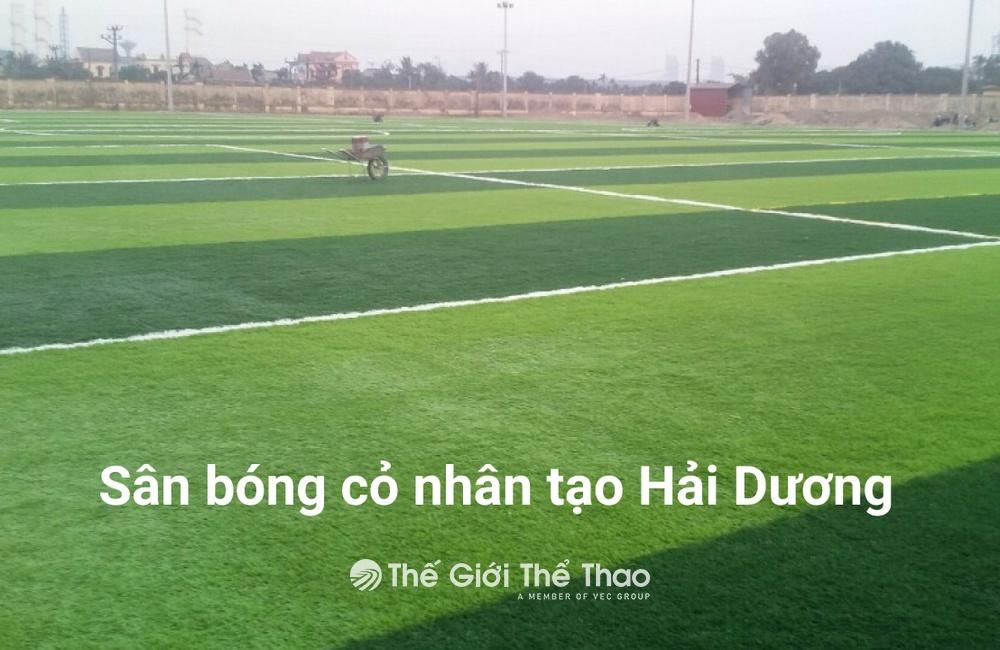 Sân bóng cỏ nhân tạo - Tứ Kì, Hải Dương