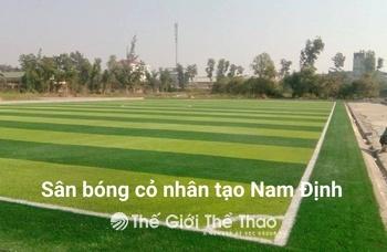 Sân bóng Trường THPT Ngô Quyền - Nam Định