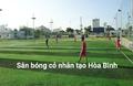 Sân bóng cỏ nhân tạo Hồ Re - Lạc Sơn Hòa Bình