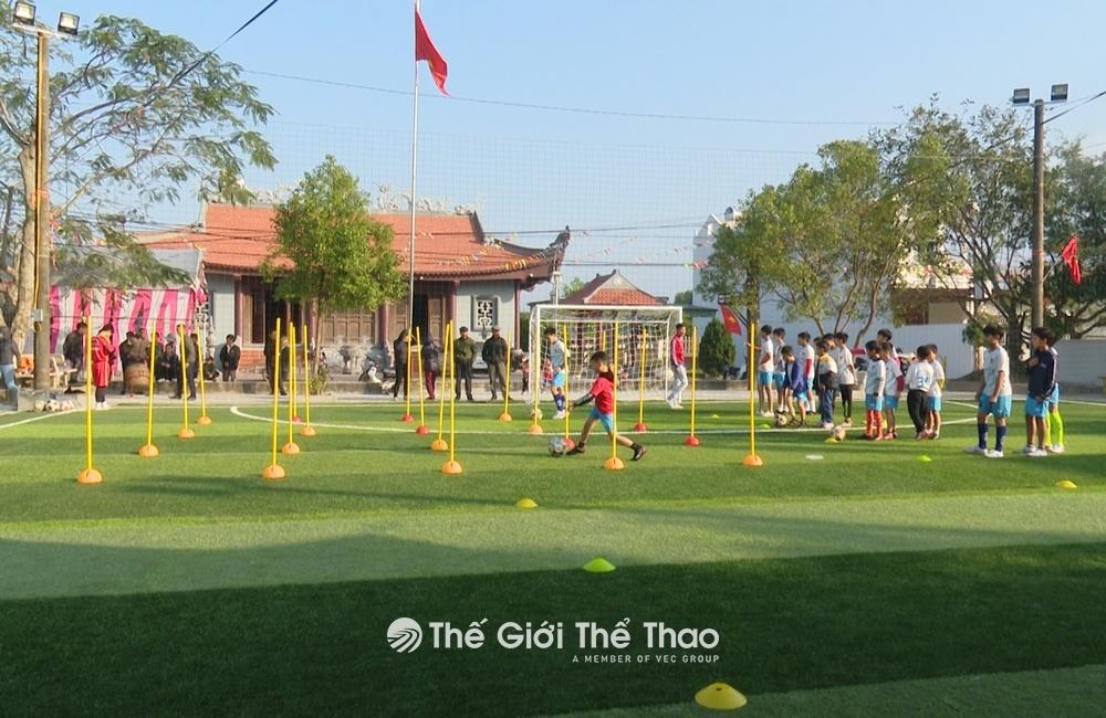 Sân bóng đá thôn Tử Tế, Thanh Tân, Thái Bình
