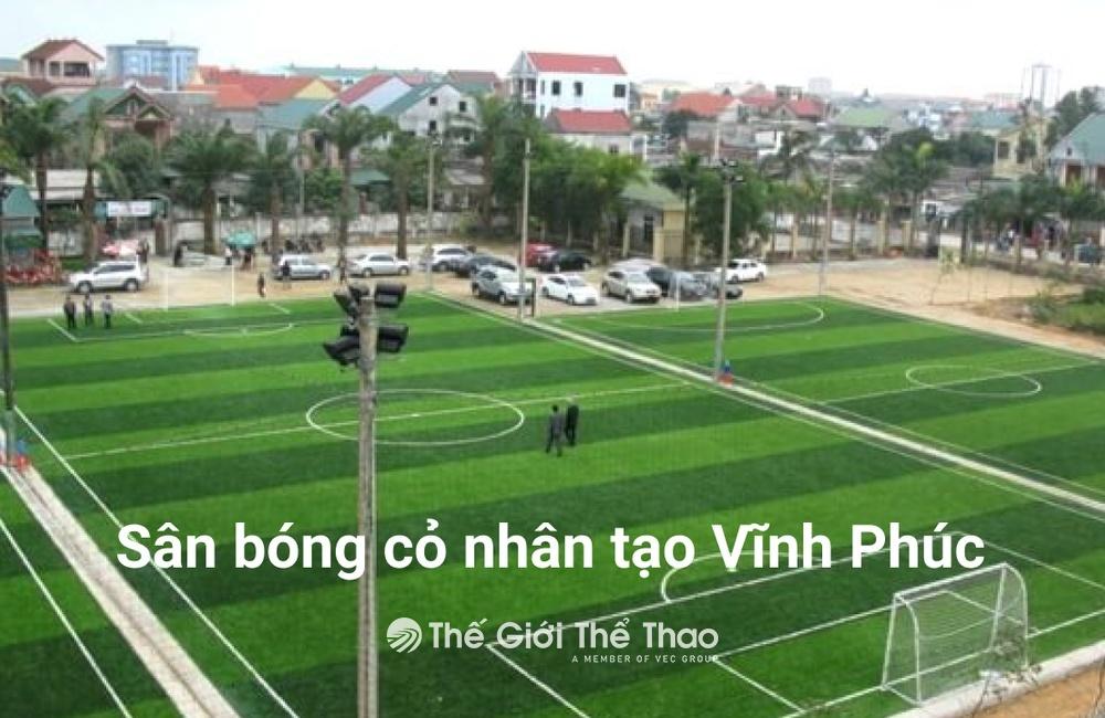 Sân bóng nhân tạo Tuân Tuân - Sông Lô Vĩnh Phúc
