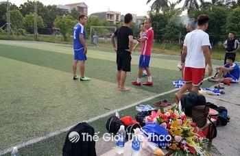 Sân bóng Trường Giang - Bình Xuyên Vĩnh Phúc
