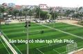 Sân bóng nhân tạo Tây Sơn - Tam Đảo Vĩnh Phúc