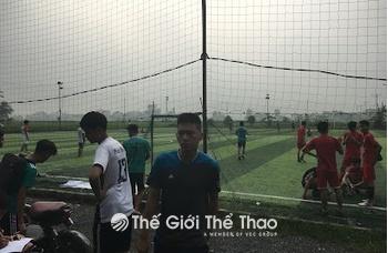 Sân bóng Phú Thọ - huyện Thanh Oai Hà Nội