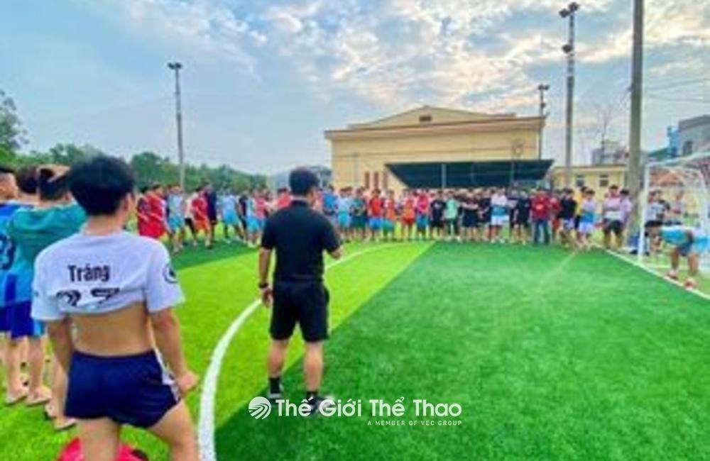 Sân bóng Bất Lự - Tiên Du Bắc Ninh