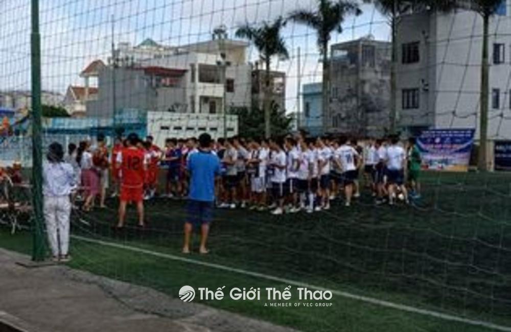 Sân bóng đá nhân tạo Lê Chân