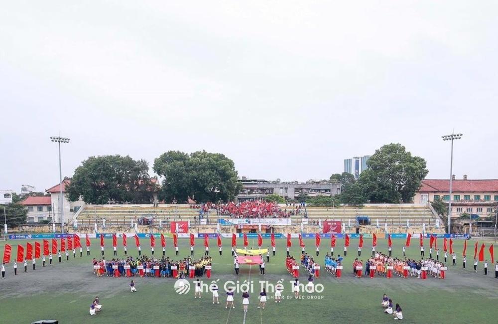 Sân bóng đá Đại học dân lập Hải Phòng