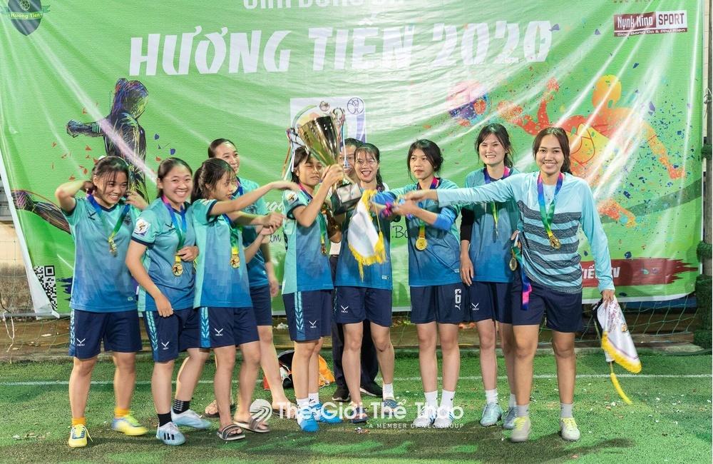 Sân bóng Hương Tiến - Yên Dũng Bắc Giang