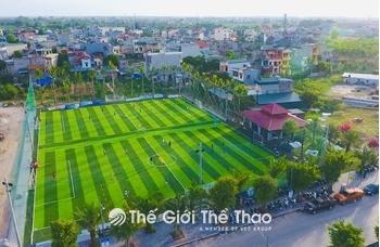 Sân bóng đá Ecopark HD - TP Hải Dương