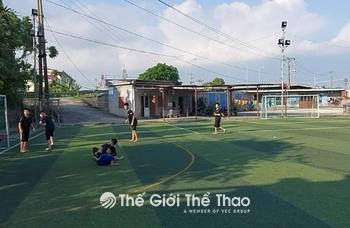 Sân bóng Lê Thiện - An Dương - Hải Phòng