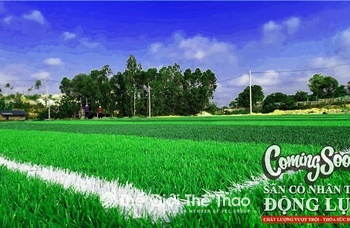 Sân bóng đá Động Lực - Việt Trì - Phú Thọ